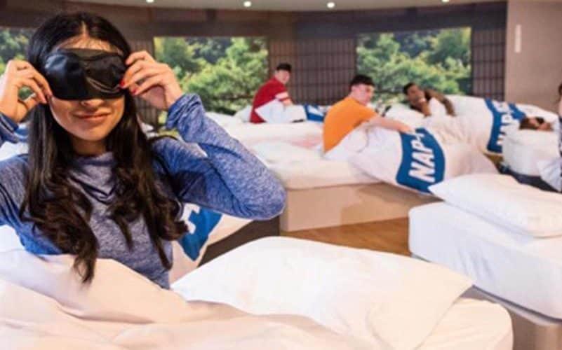 Des cours de sommeil proposés dans une salle de fitness britannique