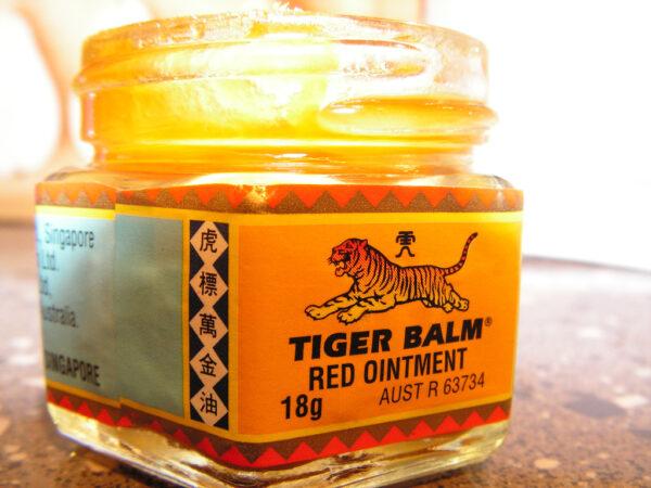 Baume du tigre rouge pour exercices physiques