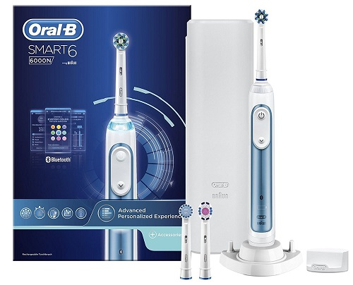 choisir brosse dents electrique oral b pro 6000