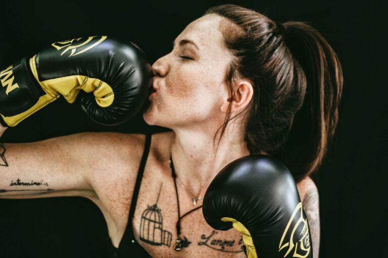 perdre du poids avec un punching-ball